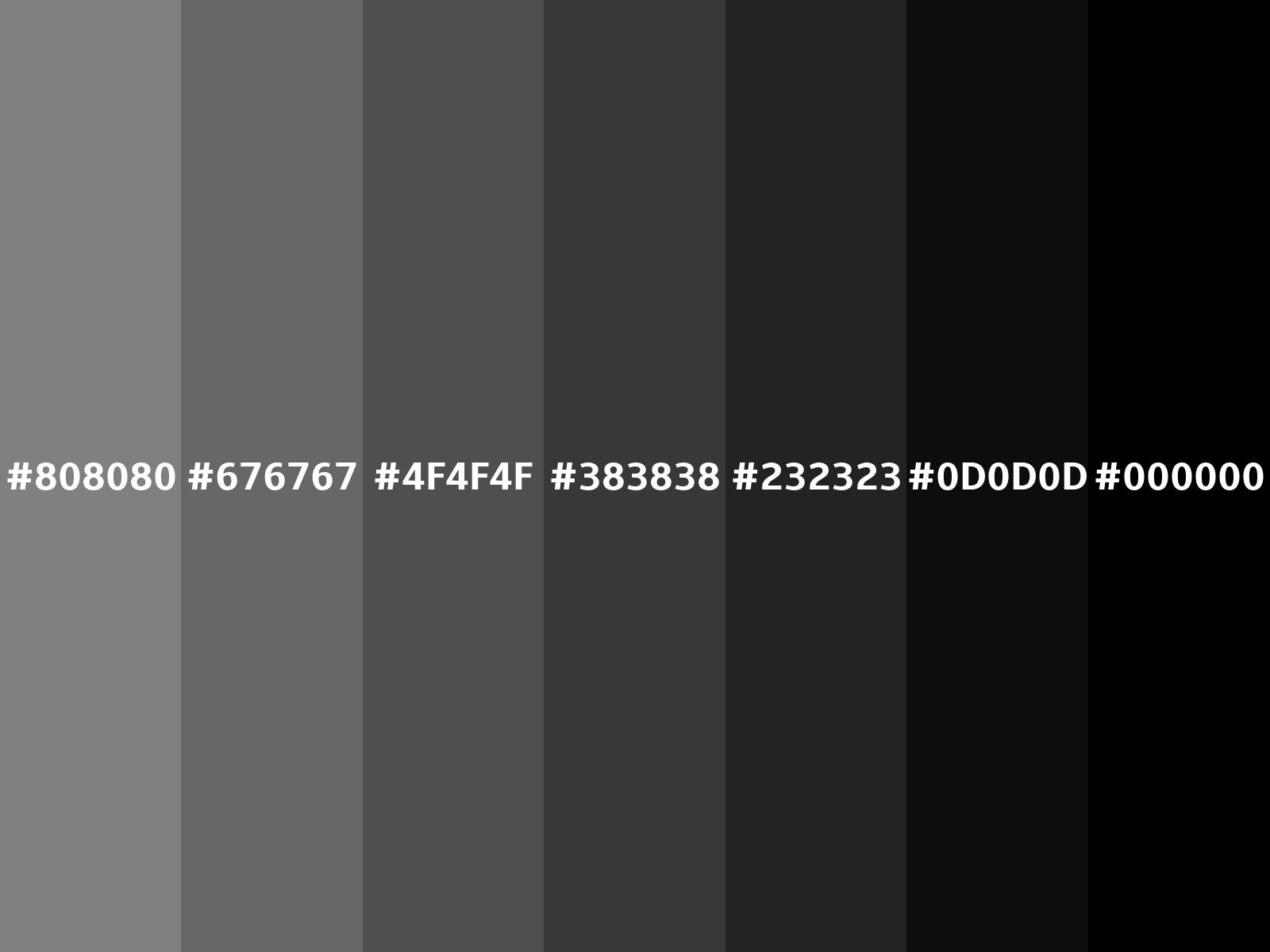 Converting Colors Gray