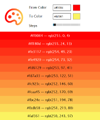 Image of the Color Blender app